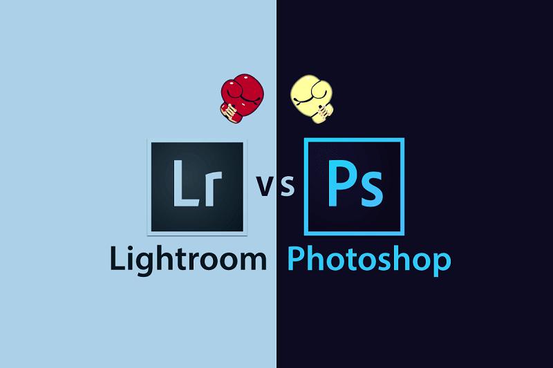 Cả 2 phần mềm cùng của Adobe và đều dùng để chỉnh sửa ảnh.