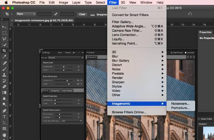 Filter Imagenomic NoiseWare